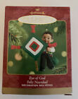 2001 Hallmark Keepsake Christmas Tree Ornament Feliz Navidad Eye Of God QX8185
