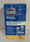 Clorox Pool  Spa Care Complete Kit Shock Chlorine Tablets  Test Small Pools
