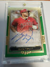 2020 Topps Five Star SSP MIKE TROUT Green Auto Autograph 11 15 Angels