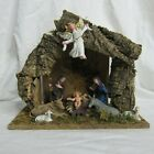 Vtg Commodores 9 Piece Italian Nativity Set Handcrafted in Original Box