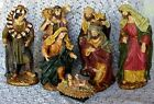 Vintage Large Nativity Traditional Set 7 Figurines 16 Tall Christmas Religious