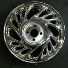 15 CHROME SATURN S SERIES 1998 1999 OEM Factory Original Wheel Rim 7010