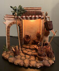 Fontanini Nativity Basket Shop 5 Inch Collection Retired