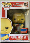 Comic Book Guy Funko Pop Simpsons Hot Topic Exclusive NYCC Con Limited Edition