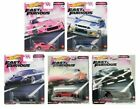 2020 Hot Wheels Fast and Furious Quick Shifters Set of 5 Cars 1 64 Diecast