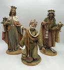 Large FONTANINi NATIVITY Figures 3 KINGS Roman E SIMONETTI Depose ITALY 12