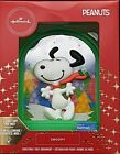 2020 Hallmark Peanuts Premium Light Up Snoopy Christmas Holiday Ornament  READ