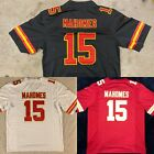 NWT Patrick Mahomes 15 Kansas City Chiefs MENS Stitched RED WHITE Jersey