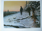 Days End Deer Print SIGNED by The Benoit Brothers PLUS Free Early Days
