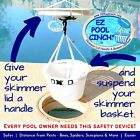 EZ Pool Cinch Give Your Skimmer Lid a Handle and Basket a Harness EZ as 1 2 3