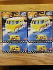 Lot of 4 Real Riders 2020 Hot Wheels Car Culture Boulevard Kool Kombi 17