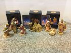 Lot Of 3 Roman Fontanini Nativity Pieces Marked 1992 1998 w Original Boxes