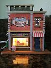 """2012 Lemax Christmas Village Lighted Building """"O'Connor's Billiards No Box"""