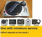 Technics Turntable SL 1200 MK3D with one miniature service