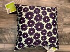 Amy Butler DREAM DAISY Decorative Pillow 18 by 18 Inches Square NEW
