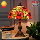 Sun Flower Design Tiffany Style Light Handmade Stained Glass Table lamp 1772 in