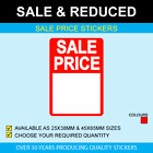 Sale Price Stickers - Available In 2 Sizes