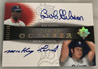 2005 UD ULTIMATE SIGNAURES BOB GIBSON MICKEY LOLICH DUAL AUTO AUTOGRAPH 100 HOF