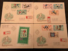 Cover FDC Hungary 1966 World Cup England