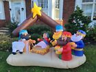 INFLATABLE CHRISTMAS NATIVITY FT DECORATION EASY SETUP IN SECONDS
