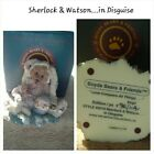 Boyds Bears The Bearstone Collection Sherlock & Watson in Disguise for Easter