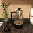 Vintage 1960s Proctor Silex Glass Light Up Percolator Coffee Maker WORKS 01932