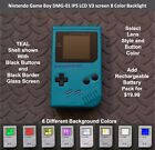 Nintendo Game Boy DMG 01 with IPS LCD V3 screen 8 Color Backlight TEAL