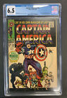Captain America #100 CGC 6.5 1968 1st Issue Black Panther Appearance