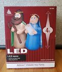 Christmas Holy Family Nativity Airblown Inflatable Lighted Decoration