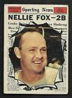 Nellie Fox Cards and Autographed Memorabilia Guide 16