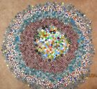 HUGE MIXED LOT 2800+ Glass Marbles Swirls 50 Shooters 29 pounds