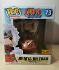New Funko Pop Animation Naruto Jiraiya On Toad Hot Topic Exclusive 6 inch