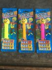 Smiley PEZ Dispensers, Lot Of 3