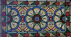 TREMENDOUS ANTIQUE FIRED STAINED GLASS CHURCH WINDOW BALTIMORE MD AREA