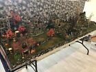 Halloween Village Display Platform For Lemax Spooky Town -Large 3 Sections -