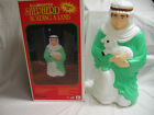 1999 Grand Venture Shepherd with Lamb Christmas Blow Mold Nativity 27 w Box