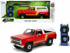 1980 CHEVROLET BLAZER RED  WHITE  EXTRA WHEELS 1 24 DIECAST MODEL JADA 32308