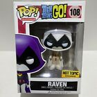 Funko Pop Teen Titans Go Raven White #108 HotTopic Exclusive Vaulted DAMAGED BOX