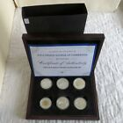 2013 BIRTH OF PRINCE GEORGE OF CAMBRIDGE 6 X SILVER PROOF SET complete