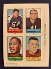 1969 Topps Football Cards 5