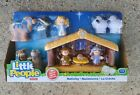 FISHER PRICE LITTLE PEOPLE NATIVITY SET NEW
