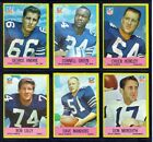 1967 Philadelphia Football Cards 4