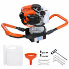 52cc Earth Auger 2-stroke Gas Powered One Man Post Hole Digger Machine Bits