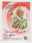 2007 Wizard of Oz Original Red Ink Autograph Jerry Maren Lollipop Guild Kid RIP