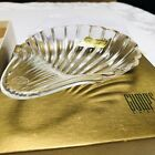 BACCARAT France Art Glass Crystal Dish Pin Dresser Candy Dish New in Gumps Box