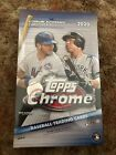 2020 Topps Chrome Hobby Box Factory Sealed 2 Autographs