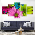 Multicolore Flower Blossom Canvas Print Painting Home Decor Wall Art Picture