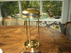 VINTAGE MID CENTURY MODERN ATOMIC FLYING SAUCER DESK LAMP TABLE LAMP EXCLNT USED