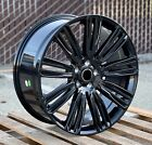 Dynamic Style 22x95 Gloss Black Wheels Fits Land Rover Range Rover HSE SVR