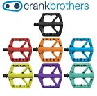 Crank Brothers Stamp 1 MTB Platform pedals Small or Large Black assorted Colors